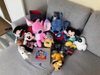 Disney bundle soft toys