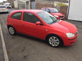 Vauxhall corsa sxi 1.2 twinport 4 NEW TYRES NEW MOT