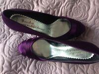 Cadbury purple shoes size 6