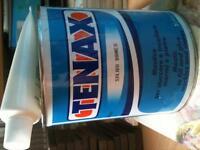 Epoxy resin and hardener , Tenax box of 12