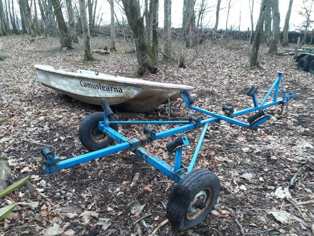 Boat trailer and boat project