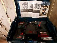 Bosch 18v impact and combi drills