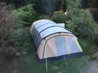 Used Kampa Croyde 6 Classic air tent