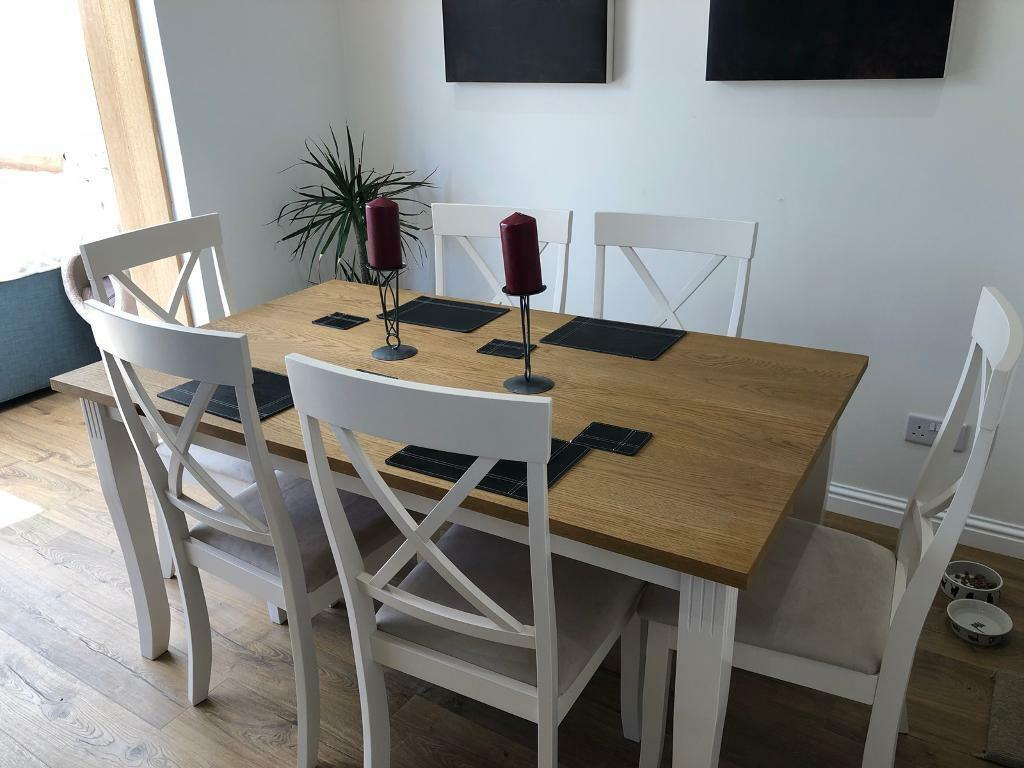 Zara Dining Table With 6 Chairs Only 3 Weeks Old Too Large For Dining
