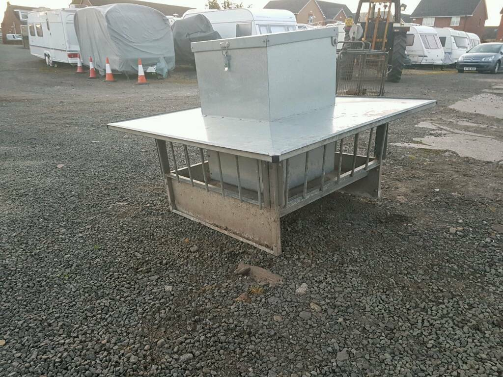for photo agriculture iae new product feeders sided sheep portable feeding feeder lamb creep double