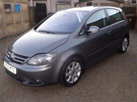 2005 Volkswagen Golf Plus 2.0 TDI PD GT Diesel 5 Door Grey FSH 12 Months MOT & 3 Months Warranty