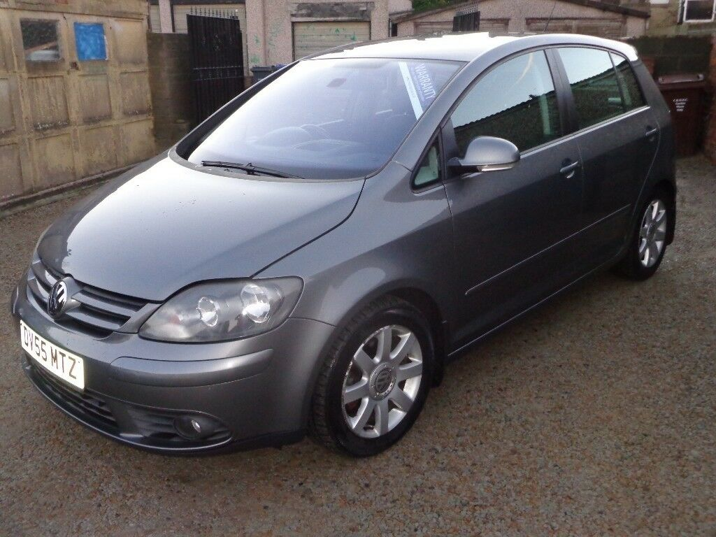 2005 volkswagen golf plus 2 0 tdi pd gt diesel 5 door grey. Black Bedroom Furniture Sets. Home Design Ideas