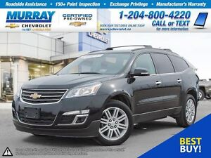 2014 Chevrolet Traverse 1LT *Remote Start, Rear View Camera, OnS