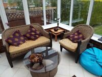 4 piece conservatory suite originally purchased from Allders of Croydon