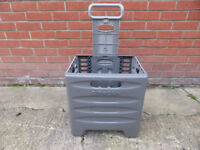 Citroen Xsara Picasso genuine boot shopping trolley, foldable, wheeled, camping, picnics, vgc £10