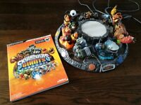 Skylanders accessories and book