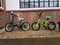 Two boys bikes (5-7 year old)