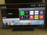 "55"" LG Smart LED TV, Full HD,Freeview HD Freesat,100Hz,Wifi,USB CAN DELIVER"