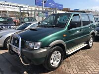 *REDUCED* 2003 03 NISSAN TERRANO S TURBO DIESEL SEVEN SEATER SUPERB DRIVE LONG MOT LOVELY CONDITION