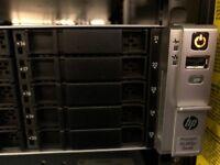 High Performance HPE Server Ideal for Hyper-V or Vmware virtualisation or standalone