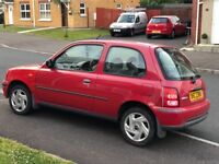 2002 Nissan Micra 1.0l for sale