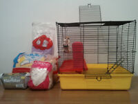 HAMSTER, GERBIL & RAT CAGE
