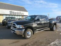 2014 RAM 3500 SLT Mega Cab DUALLY! LOW KM'S! TOW PACKAGE!