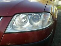 Vw passat b5 headlights ×2