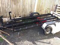 3 bike trailer £350 OVNO