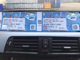 2 x Capital FM Summertime Ball Tickets - Golden Circle right