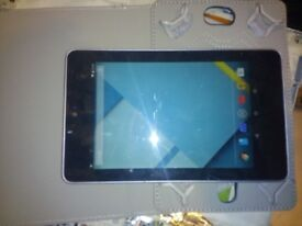 Google Asus Nexus 7 Tablet PC 32GB, Wi-Fi, 7in - Black good condition