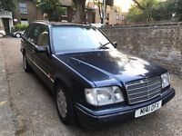 1994 CLASSIC MERCEDES E300 ESTATE, 7 SEATER, SOON SHE WILL BE ROAD TAX FREE