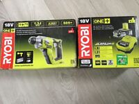 RYOBI One + Hammer Drill plus Battery & Charger