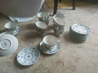 Royal Doulton York town cups and saucers