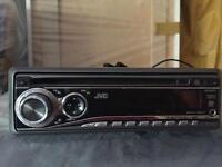 JVC Car Stereo, AUX & USB & CD