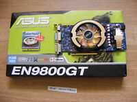 Asus (nVidia) 9800GT 512MB GDDR3 graphics card for sale.