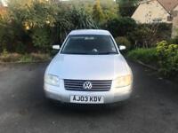 VW Passat 1.9 TDi AUTOMATIC 2003 Silver NEW 12 MONTHS MOT Service History £795