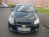 CHEVROLET AVEO 1.2 ENGINE WITH FULL SERVICE HIST,GENUINE LOW MILEAGE OF 41K AND 1+ YEAR MOT FOR SALE