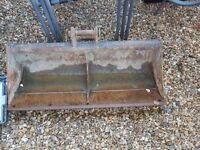 Digger bucket in good condition