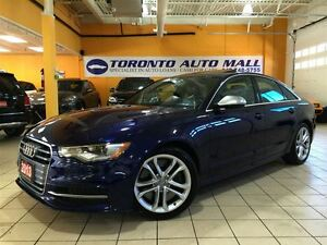 2013 Audi S6 4.0T+STRONIC+V8 TWIN TURBO+NAVIGATION+CAMERA+COOLI