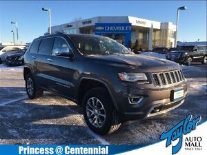 2014 Jeep Grand Cherokee Overland|1 OWNER| Sunroof| Navigation