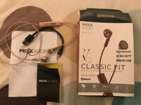 Mixx Audio Classic Fit Bluetooth Wireless Headphones Earphones For Mobile
