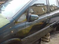 for breaking zafira 2l diesel 2005 turbo gearbox and etc