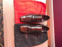 Paul smith dark brown shoes