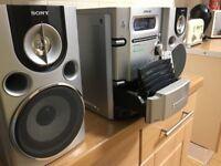 Sony CMT-HPX7 hifi system 5-CD
