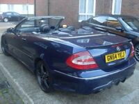 2004 | MERCEDES BENZ CLK 3.2 | CONVERTIBLE | ONE OWNER FROM NEW | SERVICE HISTORY | 3500