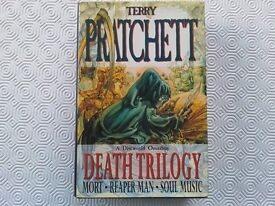 TERRY PRATCHETT DEATH TRILOGY HARDBACK