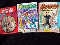 Star Trek / 6 Million Dollar Man / Thundercats / Hotspur / The SAINT !!! Annuals