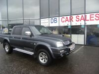 2006 56 MITSUBISHI L200 2.5 TD 4WD LWB WARRIOR DCB 1D 114 BHP **** GUARANTEED FINANCE ****