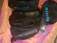 Oxford twin textile durable motorbike panniers