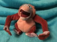 disney jungle book king louie soft toy