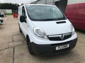 2011 Vauxhall vivaro 2.0 cdti, Direct from Anglian water, Great condition!