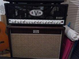 EVHiii 100w Head and Zilla Studio Pro 212