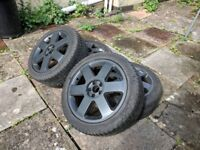 "Audi / VW / Seat Ronal 5x100 17"" Alloy Wheels"