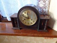 antique vintage collectors retro clocks x2